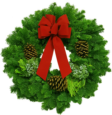 University-Ravenna Cooperative Preschool : Wreath