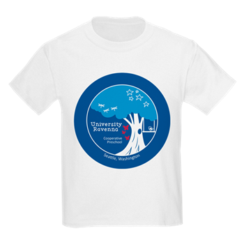 University-Ravenna Cooperative Preschool : Logo T-shirt