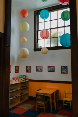 University-Ravenna Cooperative Preschool: Library Center