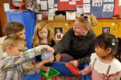 University-Ravenna Cooperative Preschool : Parent Education taught by Teacher Kristin